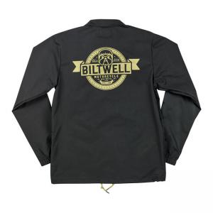Biltwell Jacke - Bulldog Windbreaker Schwarz