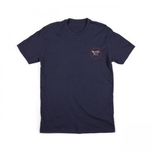 Brixton T-Shirt - Wheeler 2 Navy