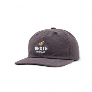 Brixton Cap - Peabody Charcoal