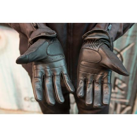 Roland Sands Handschuhe - Truman Schwarz