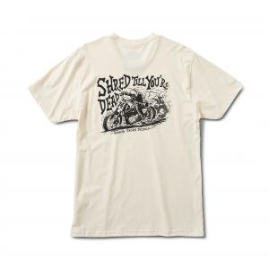 Roland Sands Design T-Shirt - WFO Weiss