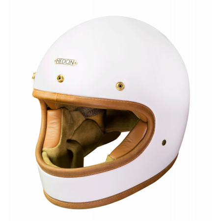 Hedon Helmet Heroine Classic - Knight White
