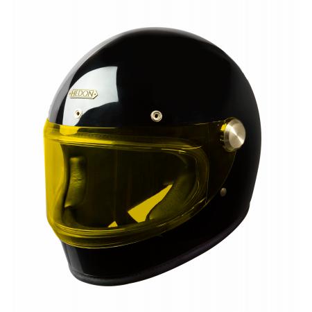 Hedon Helmet Heroine Racer - Signature Black