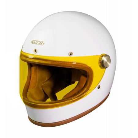 Hedon Helmet Heroine Racer - Knight White