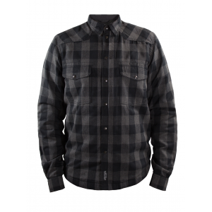John Doe Shirt - Motoshirt Grey/Black