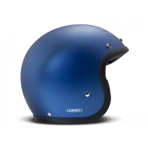 DMD Helm Vintage - Metallic Blue mit ECE Blau