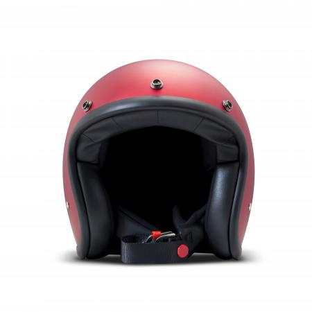 DMD Helm Vintage - Metallic Red mit ECE Rot