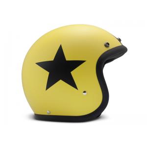 DMD Helmet Vintage - Star with ECE Yellow