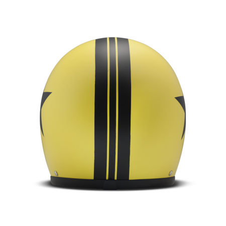DMD Helmet Vintage - Star with ECE Yellow