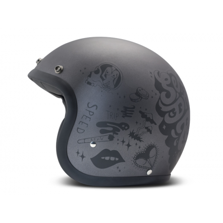 DMD Helm Vintage - You Rock mit ECE