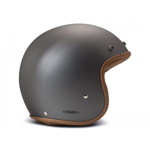 DMD Helm Leather - Pillow Matte Grau/Braun mit ECE