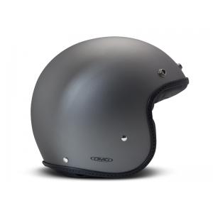 DMD Helm Leather - Pillow Matte Grau/Schwarz mit ECE