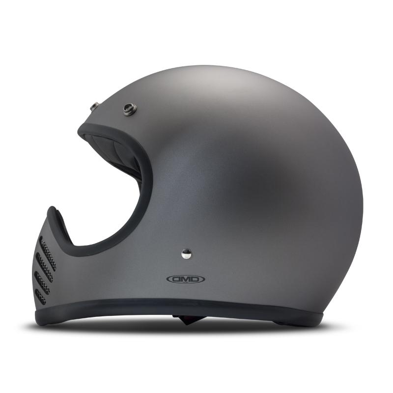 DMD Helmet Seventy Five - Shadow Black with ECE