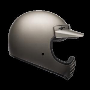 Bell Helm Moto-3 - Independent Matte Titanium
