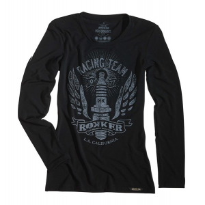 Rokker Frauen Langarmshirt - Performance Racing Team