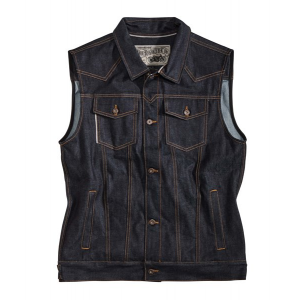 Rokker Vest - Team Denim