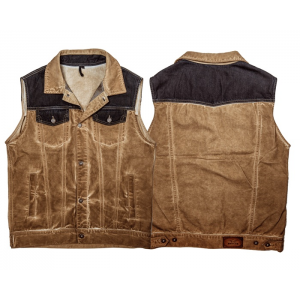 Rokker Vest - Mixed Canvas