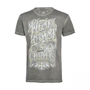 West Coast Choppers T-Shirt - Lock Up Grau