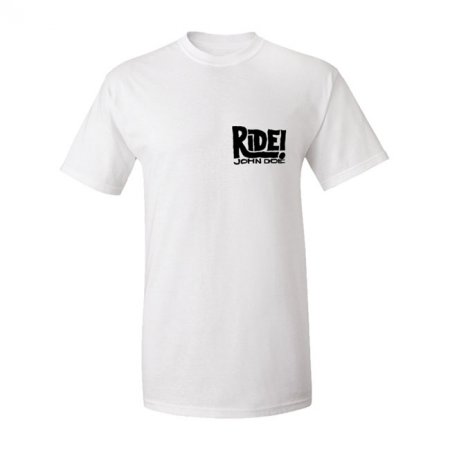 John Doe T-Shirt - Ride White