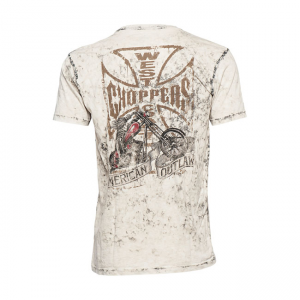 West Coast Choppers T-Shirt - Chopper Dog Weiss