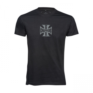 West Coast Choppers T-Shirt - Maltese Cross Black