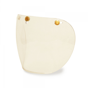 Hedon Shield Visor - Clear Brass