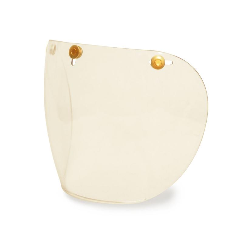 Hedon Shield Visor - Clear Brass
