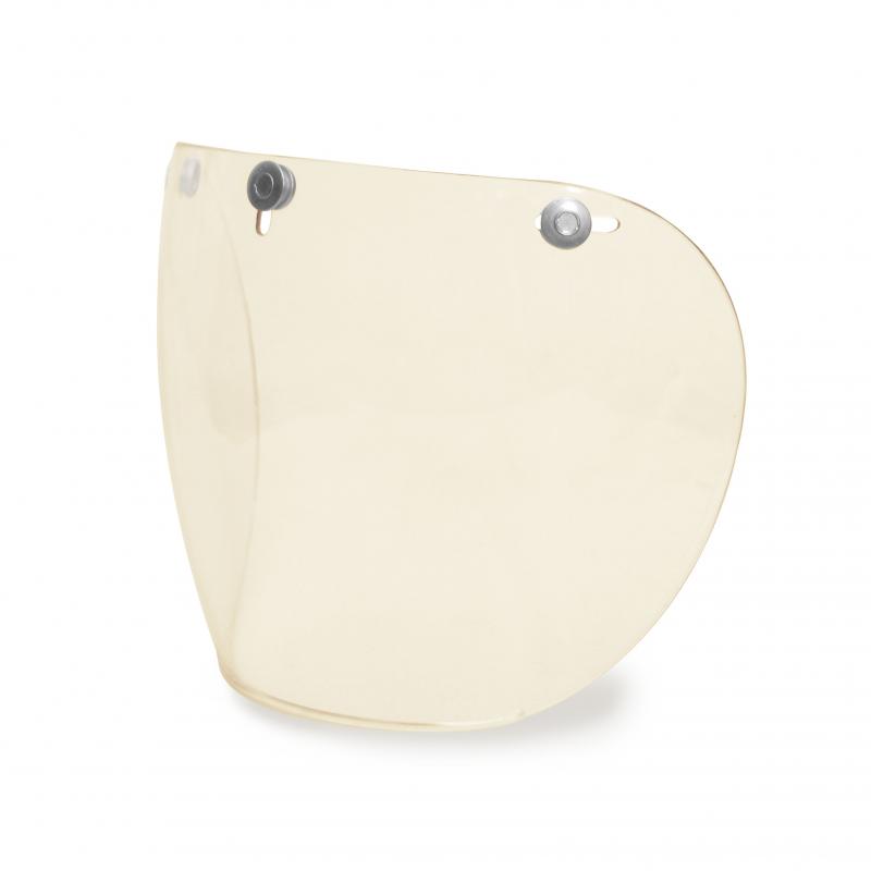 Hedon Shield Visor - Clear Steel