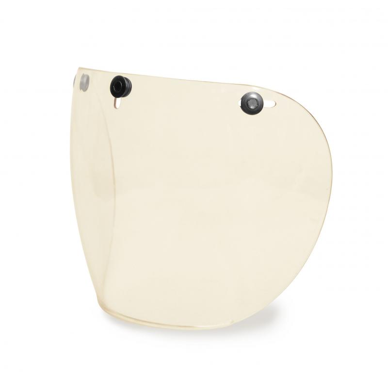 Hedon Shield Visier - Clear Gunmetal