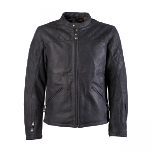 Roland Sands Leather Jacket - Rockingham Black