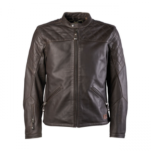 Roland Sands Leather Jacket - Rockingham Brown