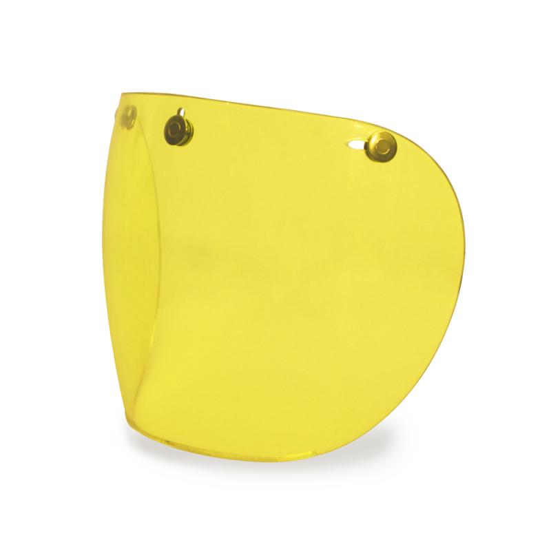 Hedon Shield Visor - Amber Brass