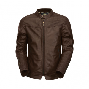 Roland Sands Leather Jacket - Walker Brown