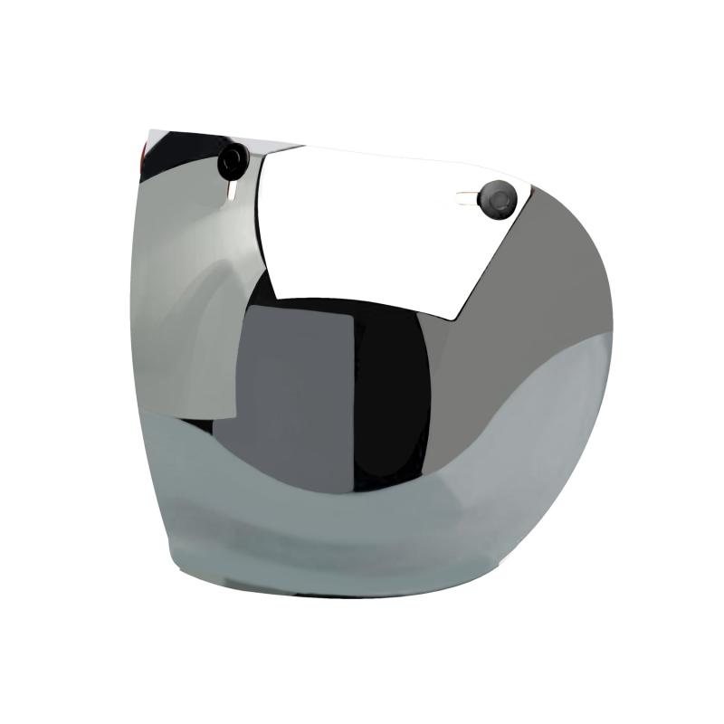 Hedon Shield Visor - Mirror Gunmetal