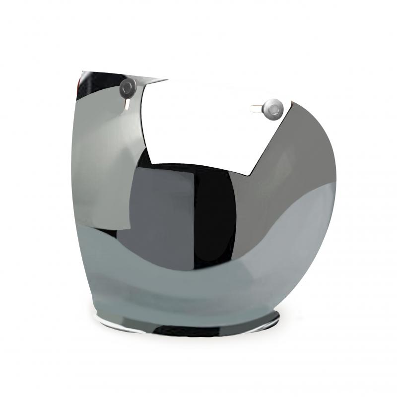 Hedon Shield Visier - Mirror Steel