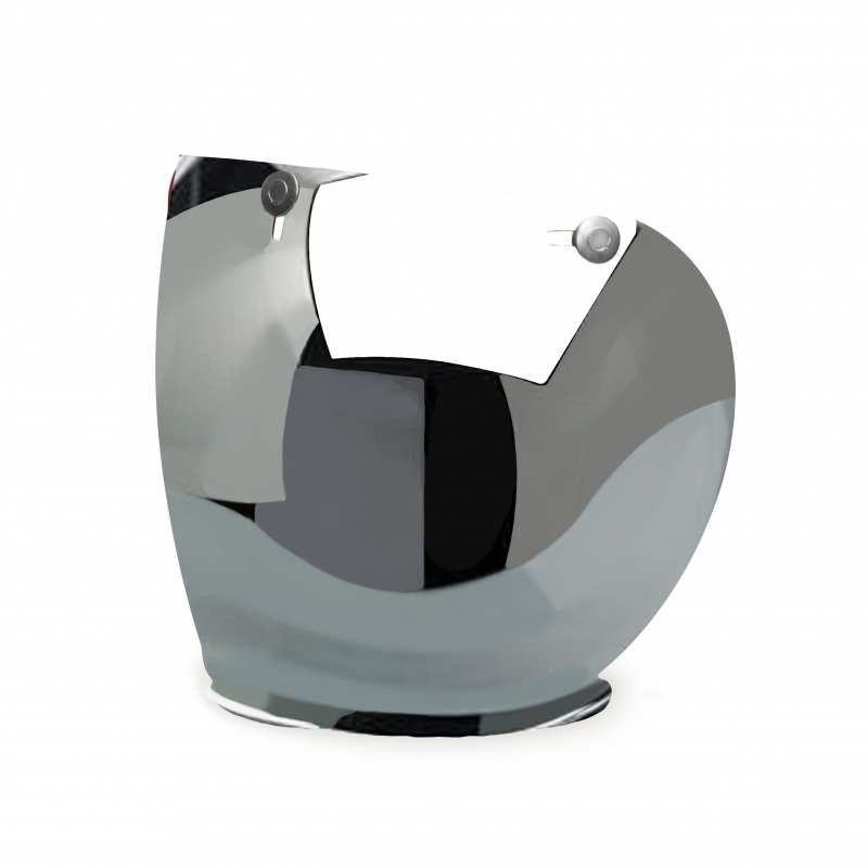 Hedon Shield Visor - Mirror Steel