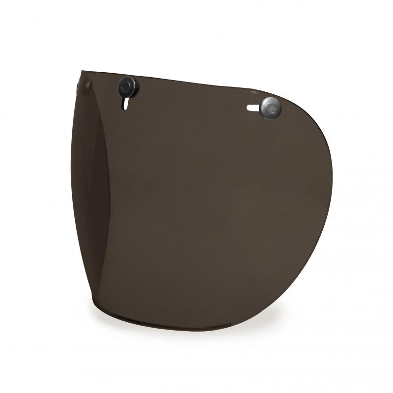 Hedon Shield Visor - Dark Smoke Gunmetal