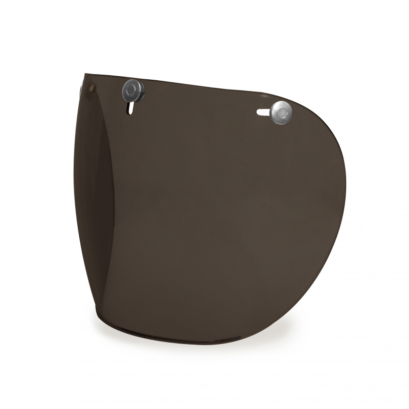 Hedon Shield Visor - Dark Smoke Steel