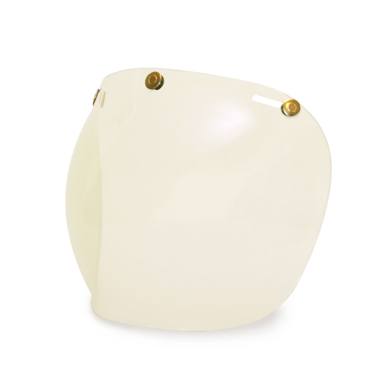 Hedon Bubble Visor - Clear Brass