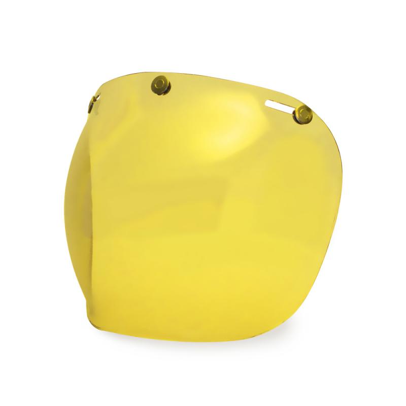 Hedon Bubble Visier - Amber Brass
