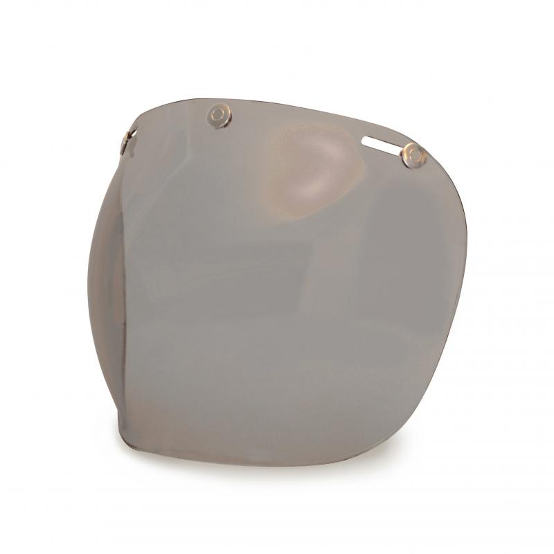 Hedon Bubble Visier - Desert Smoke Steel
