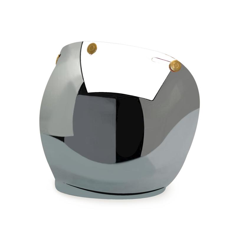 Hedon Bubble Visor - Mirror Brass