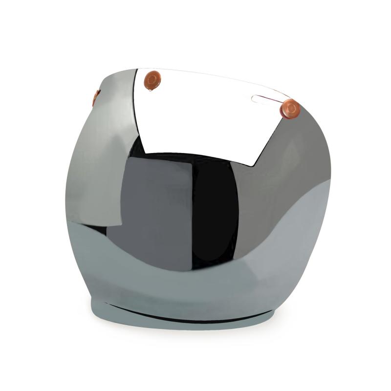 Hedon Bubble Visor - Mirror Copper