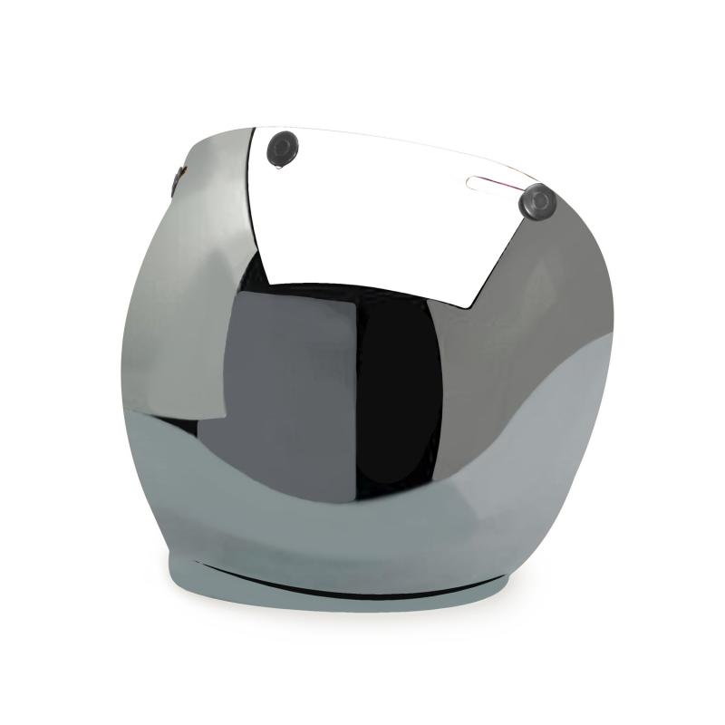 Hedon Bubble Visor - Mirror Gunmetal