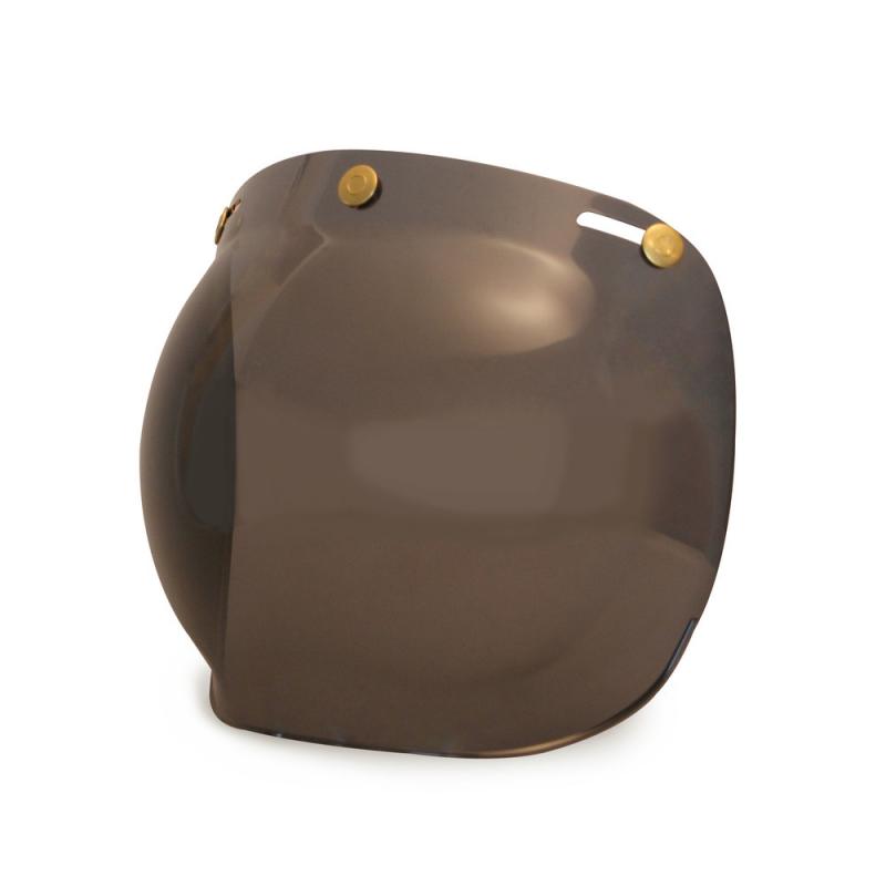 Hedon Bubble Visier - Dark Smoke Brass