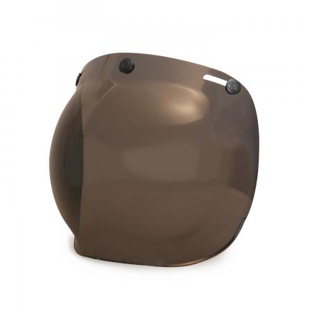 Hedon Bubble Visier - Dark Smoke Gunmetal