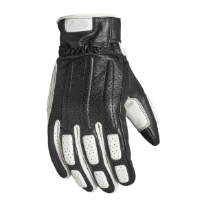 Roland Sands Design Gloves - Rourke Black/White
