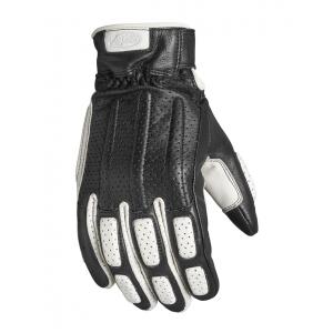 Roland Sands Design Handschuhe - Rourke Schwarz/Weiss