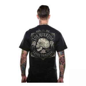 Lucky-13 T-Shirt - Dead Skull