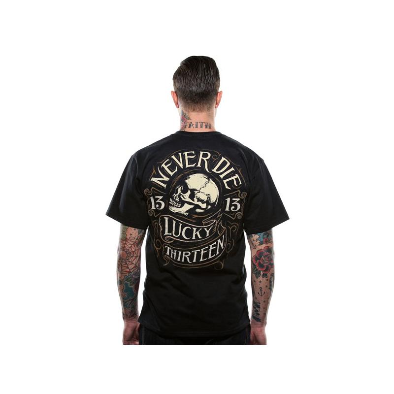 Lucky-13 T-Shirt - Never Die